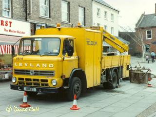 British Telecom Vehicles